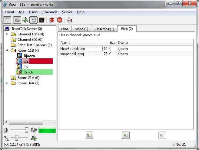 TeamTalk Files Download